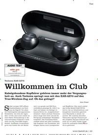 Titelbild der Ausgabe 5/2020 von Test: Technics EAH-AZ70: Willkommen im Club. Zeitschriften als Abo oder epaper bei United Kiosk online kaufen.