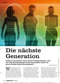 Titelbild der Ausgabe 6/2020 von Die nächste Generation. Zeitschriften als Abo oder epaper bei United Kiosk online kaufen.