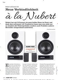 Titelbild der Ausgabe 6/2020 von Nubert nuConnect trX: Neue Verbindlichkeit à la Nubert. Zeitschriften als Abo oder epaper bei United Kiosk online kaufen.