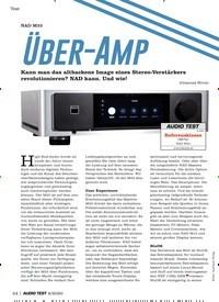 Titelbild der Ausgabe 6/2020 von NAD M33: Über-Amp. Zeitschriften als Abo oder epaper bei United Kiosk online kaufen.