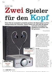 Titelbild der Ausgabe 6/2020 von Fiio K5 + FA9: Zwei Spieler für den Kopf. Zeitschriften als Abo oder epaper bei United Kiosk online kaufen.