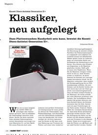 Titelbild der Ausgabe 8/2020 von Knosti Disco-Antistat Generation II+: Klassiker, neu aufgelegt. Zeitschriften als Abo oder epaper bei United Kiosk online kaufen.