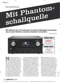 Titelbild der Ausgabe 8/2020 von Dual CR 900 Phantom: Mit Phantomschallquelle. Zeitschriften als Abo oder epaper bei United Kiosk online kaufen.