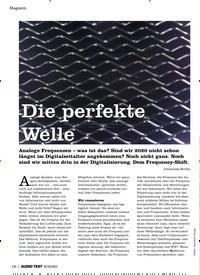 Titelbild der Ausgabe 8/2020 von Die perfekte Welle. Zeitschriften als Abo oder epaper bei United Kiosk online kaufen.