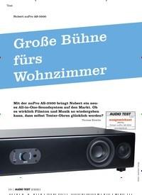 Titelbild der Ausgabe 2/2021 von Große Bühne fürs Wohnzimmer. Zeitschriften als Abo oder epaper bei United Kiosk online kaufen.