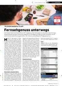 Titelbild der Ausgabe 2/2019 von TELEKOM MAGENTA TV APP: Fernsehgenuss unterwegs. Zeitschriften als Abo oder epaper bei United Kiosk online kaufen.