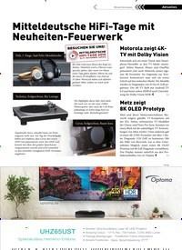 Titelbild der Ausgabe 3/2019 von Branchennews: Mitteldeutsche HiFi-Tage mit Neuheiten-Feuerwerk. Zeitschriften als Abo oder epaper bei United Kiosk online kaufen.