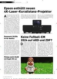 Titelbild der Ausgabe 3/2019 von Branchennews: Epson enthüllt neuen 4K-Laser-Kurzdistanz-Projektor. Zeitschriften als Abo oder epaper bei United Kiosk online kaufen.