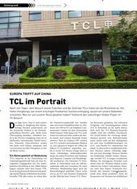 Titelbild der Ausgabe 3/2019 von LCD-Herstellung in China: EUROPA TRIFFT AUF CHINA: TCL im Portrait. Zeitschriften als Abo oder epaper bei United Kiosk online kaufen.