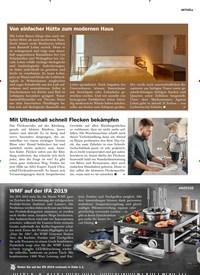 Titelbild der Ausgabe 5/2019 von Von einfacher Hütte zum modernen Haus. Zeitschriften als Abo oder epaper bei United Kiosk online kaufen.