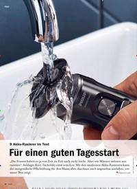 Titelbild der Ausgabe 5/2019 von 9 Akku-Rasierer im Test: Für einen guten Tagesstart. Zeitschriften als Abo oder epaper bei United Kiosk online kaufen.