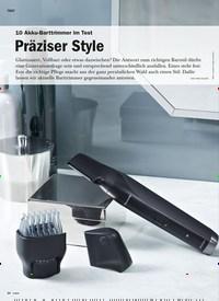 Titelbild der Ausgabe 5/2019 von 10 Akku-Barttrimmer im Test: Präziser Style. Zeitschriften als Abo oder epaper bei United Kiosk online kaufen.