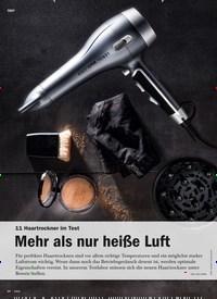 Titelbild der Ausgabe 6/2019 von 11 Haartrockner im Test: Mehr als nur heiße Luft. Zeitschriften als Abo oder epaper bei United Kiosk online kaufen.