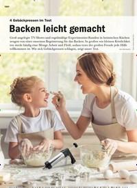 Titelbild der Ausgabe 1/2020 von 4 Gebäckpressen im Test: Backen leicht gemacht. Zeitschriften als Abo oder epaper bei United Kiosk online kaufen.