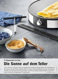 Titelbild der Ausgabe 1/2020 von 5 Crêpesmaker im Test: Die Sonne auf dem Teller. Zeitschriften als Abo oder epaper bei United Kiosk online kaufen.