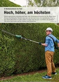 Titelbild der Ausgabe 2/2020 von 5 Heckenscheren im Test: Hoch, höher, am höchsten. Zeitschriften als Abo oder epaper bei United Kiosk online kaufen.