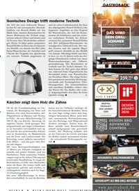 Titelbild der Ausgabe 4/2020 von Kärcher zeigt dem Holz die Zähne. Zeitschriften als Abo oder epaper bei United Kiosk online kaufen.