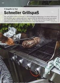 Titelbild der Ausgabe 4/2020 von 9 Gasgrills im Test: Schneller Grillspaß. Zeitschriften als Abo oder epaper bei United Kiosk online kaufen.