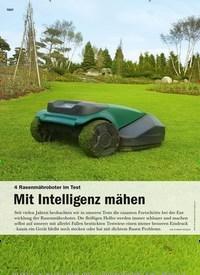 Titelbild der Ausgabe 4/2020 von 4 Rasenmähroboter im Test: Mit Intelligenz mähen. Zeitschriften als Abo oder epaper bei United Kiosk online kaufen.