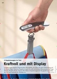 Titelbild der Ausgabe 5/2020 von 4 Gepäckwaagen im Test: Kraftvoll und mit Display. Zeitschriften als Abo oder epaper bei United Kiosk online kaufen.