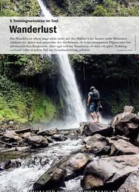 Titelbild der Ausgabe 5/2020 von 5 Trekkingrucksäcke im Test: Wanderlust. Zeitschriften als Abo oder epaper bei United Kiosk online kaufen.