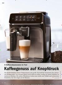 Titelbild der Ausgabe 6/2020 von 5 Kaffeevollautomaten im Test: Kaffeegenuss auf Knopfdruck. Zeitschriften als Abo oder epaper bei United Kiosk online kaufen.