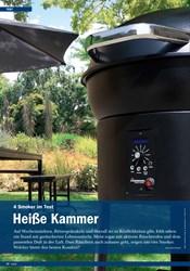 Titelbild der Ausgabe 5/2019 von 4 Smoker im Test: Heiße Kammer. Zeitschriften als Abo oder epaper bei United Kiosk online kaufen.