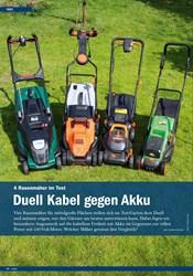 Titelbild der Ausgabe 5/2019 von 4 Rasenmäher im Test: Duell Kabel gegen Akku. Zeitschriften als Abo oder epaper bei United Kiosk online kaufen.