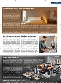 Titelbild der Ausgabe 6/2019 von Von einfacher Hütte zum modernen Haus. Zeitschriften als Abo oder epaper bei United Kiosk online kaufen.