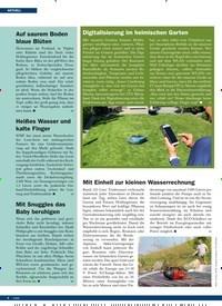 Titelbild der Ausgabe 6/2019 von Auf saurem Boden blaue Blüten. Zeitschriften als Abo oder epaper bei United Kiosk online kaufen.