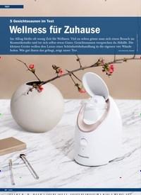 Titelbild der Ausgabe 6/2019 von 5 Gesichtssaunen im Test: Wellness für Zuhause. Zeitschriften als Abo oder epaper bei United Kiosk online kaufen.