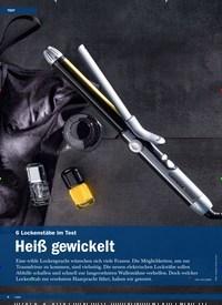 Titelbild der Ausgabe 1/2020 von 6 Lockenstäbe im Test: Heiß gewickelt. Zeitschriften als Abo oder epaper bei United Kiosk online kaufen.