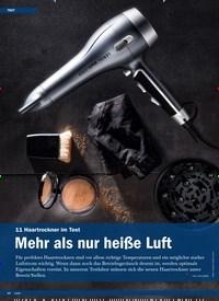 Titelbild der Ausgabe 1/2020 von 11 Haartrockner im Test: Mehr als nur heiße Luft. Zeitschriften als Abo oder epaper bei United Kiosk online kaufen.