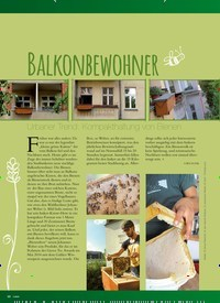Titelbild der Ausgabe 1/2019 von BALKONBEWOHNER. Zeitschriften als Abo oder epaper bei United Kiosk online kaufen.