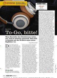 Titelbild der Ausgabe 8/2019 von Dali IO-4: To-Go, bitte!. Zeitschriften als Abo oder epaper bei United Kiosk online kaufen.