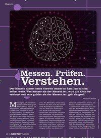 Titelbild der Ausgabe 5/2020 von Messen. Prüfen. Verstehen.. Zeitschriften als Abo oder epaper bei United Kiosk online kaufen.