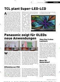 Titelbild der Ausgabe 2/2019 von TCL plant Super-LED-LCD. Zeitschriften als Abo oder epaper bei United Kiosk online kaufen.