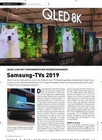 Titelbild der Ausgabe 2/2019 von QLED-LCDS MIT UMFANGREICHEN VERBESSERUNGEN: Samsung-TVs 2019. Zeitschriften als Abo oder epaper bei United Kiosk online kaufen.