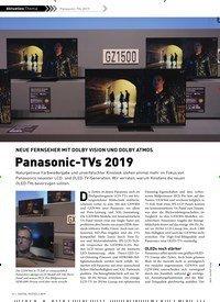 Titelbild der Ausgabe 2/2019 von NEUE FERNSEHER MIT DOLBY VISION UND DOLBY ATMOS: Panasonic-TVs 2019. Zeitschriften als Abo oder epaper bei United Kiosk online kaufen.