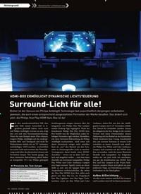 Titelbild der Ausgabe 1/2020 von Dynamische Lichtsteuerung: HDMI-BOX ERMÖGLICHT DYNAMISCHE LICHTSTEUERUNG: Surround-Licht für alle!. Zeitschriften als Abo oder epaper bei United Kiosk online kaufen.