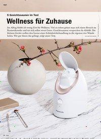 Titelbild der Ausgabe 5/2019 von 5 Gesichtssaunen im Test: Wellness für Zuhause. Zeitschriften als Abo oder epaper bei United Kiosk online kaufen.