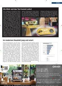 Titelbild der Ausgabe 1/2020 von Ein Klick und das Taxi kommt sofort. Zeitschriften als Abo oder epaper bei United Kiosk online kaufen.