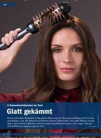 Titelbild der Ausgabe 1/2020 von 4 Haarentwirrbürsten im Test: Glatt gekämmt. Zeitschriften als Abo oder epaper bei United Kiosk online kaufen.