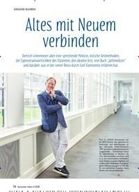 Titelbild der Ausgabe 6/2018 von Altes mit Neuem verbinden. Zeitschriften als Abo oder epaper bei United Kiosk online kaufen.