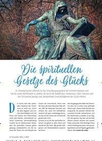 Titelbild der Ausgabe 2/2019 von Die spirituellen Gesetze des Glücks. Zeitschriften als Abo oder epaper bei United Kiosk online kaufen.