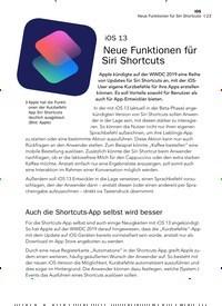 Titelbild der Ausgabe 8/2019 von iOS 13: Neue Funktionen für Siri Shortcuts. Zeitschriften als Abo oder epaper bei United Kiosk online kaufen.