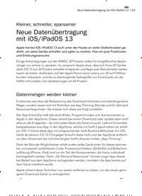 Titelbild der Ausgabe 8/2019 von Kleiner, schneller, sparsamer: Neue Datenübertragung mit iOS/iPadOS 13. Zeitschriften als Abo oder epaper bei United Kiosk online kaufen.