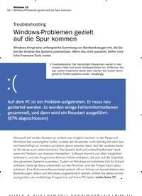 Titelbild der Ausgabe 11/2019 von Troubleshooting: Windows-Problemen gezielt auf die Spur kommen. Zeitschriften als Abo oder epaper bei United Kiosk online kaufen.