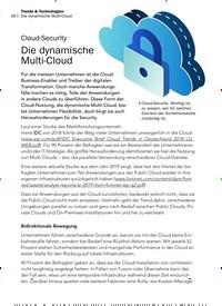 Titelbild der Ausgabe 2/2020 von Cloud-Security: Die dynamische Multi-Cloud. Zeitschriften als Abo oder epaper bei United Kiosk online kaufen.
