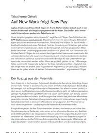Titelbild der Ausgabe 3/2020 von Tabuthema Gehalt: Auf New Work folgt New Pay. Zeitschriften als Abo oder epaper bei United Kiosk online kaufen.